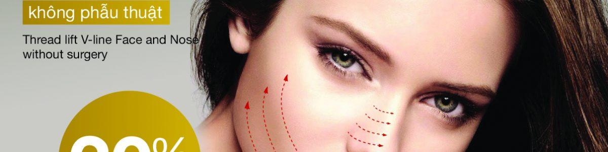 Tạo V-line khuôn mặt và nâng mũi bằng chỉ