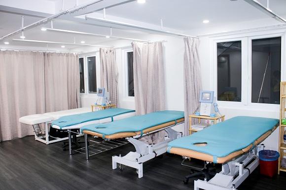 phòng điều trị tại phòng khám maple quận 2