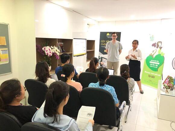 maple healthcare workshop đau xương chậu khi mang thai
