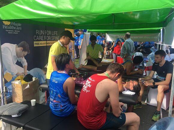 phòng khám maple healthcare đồng hành cùng the lake race