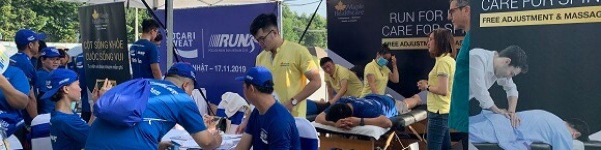 Maple Healthcare Đồng Tài Trợ Pocari Sweat Run Việt Nam 2019