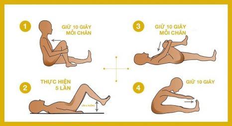 bài tập giúp giảm đau lưng tại nhà