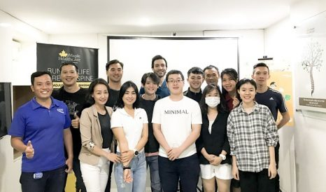 workshop dinh dưỡng và kỹ thuật luyện tập