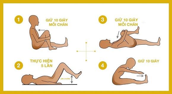 các bài tập giúp giảm đau thắt lưng